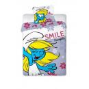 bed linen Smurfen Smurfette coton 160x200 70x80