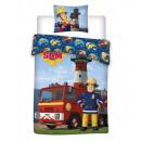 Bettwäsche Fireman Sam 025 DK 100/135 + 40/60