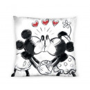 duvet cover on the  pillow Minnie kiss coton