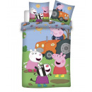 Junior bedding Peppa Pig 102, 140x200, 70x80cotton