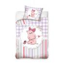 Baby beddengoed 135x100 40x60 Hippo katoen