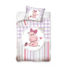 Baby bedding 135x100 40x60 Hippo cotton