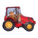 grossiste Articles de fête: Fleuret ballon  Traktor rouge - 62 cm