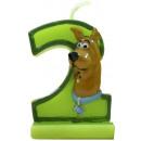 Gyertya számjegy  2  Scooby Doo