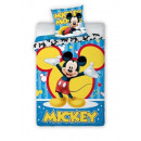 bed linen Mickey 140x200 70x90 Disney coton