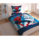 biancheria letto Spiderman Marvel 140x200 70x90 co