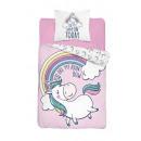 Youth bedding unicorn 140x200 coton