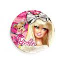 Plates Birthday Barbie - 20 cm