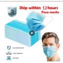 Maschera protettiva con elastico a 3 strati