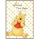 Disney blancket acrylic 110x80 Winnie the Pooh, bo
