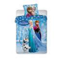 Pościel disney  Frozen 160x200 70x80 bawełna