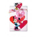 bed linen Minnie Disney 140x200 70x90 100% coton