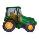 grossiste Articles de fête: Fleuret ballon Traktor vert - 62 cm