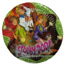 Piastre compleanno Scooby Doo - 20 cm