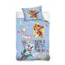 Baby bedding 135x100 40x60 dog patrol coton