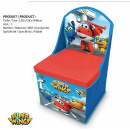 Jacket with storage box for toys Super Wings