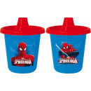 Travel Mug Spiderman 225 ml 2 pieces Disney
