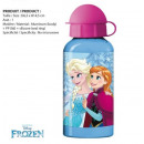 Bidon recipiente de aluminio frozen Disney 400ml