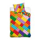 Bedding 140x200 70x90 blocks coton