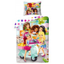 bed linen LEGO friends 140x200 70x90 Girl