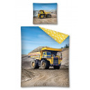 Ropa de cama camión juvenil auto 140x200 70x80