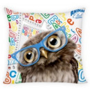 duvet cover on the pillow 40x40 owl
