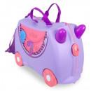 TRU-0185 N / 4/15 que monta una maleta para un niñ