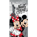 towel Minnie & Mickey NY JJ 70/140