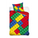 Youth bedding 140x200 70x80 blocks