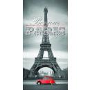 grossiste Serviettes de bain & Essuie: serviette BAIN  140x70 PARIS, Tour Eiffel