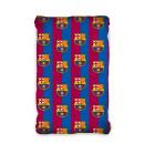 Sheet FC Barcelona 90x200cm coton