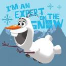 toalla 30x30 frozen Disney muñeco de nieve Olaf