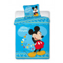 Bedtextiel naar  bed 135x100 60x40 Mickey boy