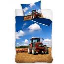 Bedding tractor 135x200 80x80 coton
