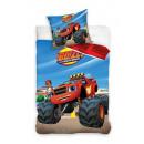grossiste Linge de lit & Matelas: drap 140x200 70x90  Blaze monster truck coton
