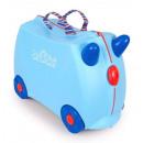 TRU-0166 rijden op een koffer voor een kind
