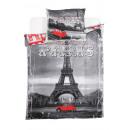 groothandel Home & Living: Bedtextiel Paris  140x200 70x80 100% katoen