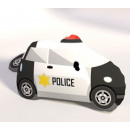 Pillow shaped auto police toy
