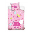 bed linen for the  bed 135x100 60x40 Peppa Pig