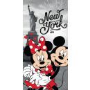 toallaMinnie y Mickey NY 70/140 JJ