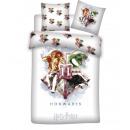 Harry Potter Bettwäsche 135x200 80x80 Baumwolle 01