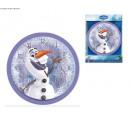 wholesale Clocks & Alarm Clocks: 25cm wall clock frozen Olaf