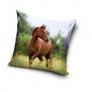 duvet cover horse pillow 40x40 polyester