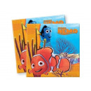 Servietten  Geburtstag Nemo - 33 cm - 20 Stück