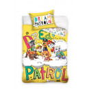 bed linen for baby 135x100 60x40 Paw Patrol yellow