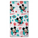 Sheet 90x200 with  rubber .coton Mickey Mouse