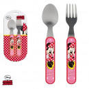 wholesale Cutlery: Set of cutlery 2pc  fork spoon Minnie Disney