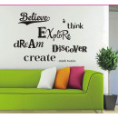 Wall decorations subtitles Belive
