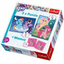 My Little Pony , 2in1 puzzles + Friendship is magi