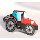 Pillow molding. Toy tractor